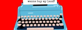 Selling land?  Write to the neighbors!